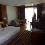 værelset