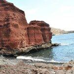 czerwone formacje skalne