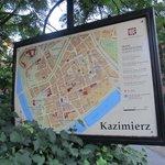 Kazimierz map.