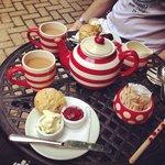 mini cream teas