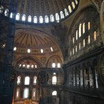 Hagia Sophia (pictures don't do it justice)