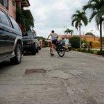 Biking out of Guanabikers headquarters