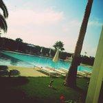 Utsikt til bassenget