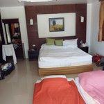 værelse i bungalow