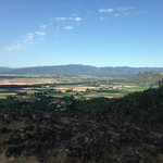 View of the valley from the top of Upper Table Rock