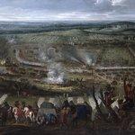 Tableau de la bataille de 1677 - entourage Snayers - Photo JQ d'Henripret