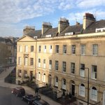 The view from my room: Henrietta Street.