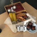 our breakfast basket-lovely and delicious