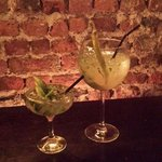 Special green cocktails for St Patrick's Day