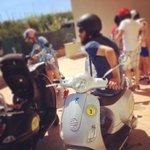 Vespa city tour with Michele