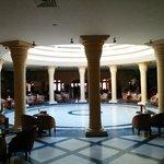 Inside the lobby
