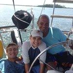 Captain Octavio and my kids