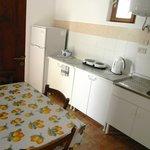 Cucinino degli appartamenti