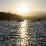 Loch Ken at sunset