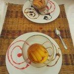 Dessert : crème caramel.....magique !?!