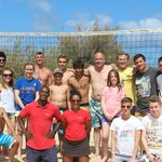 "The best ""Pestana Porto Santo"" volleiball team !"