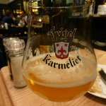 Tripel Karmeleit to drink with our Chateaubriand Steak
