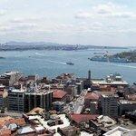 panorama from Galeta tower, Istanbul