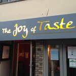 Signage for Joy of Taste