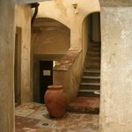 One of the many passages and staircases