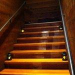 Stairs leading to Saki