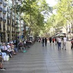 Las Ramblas walking street