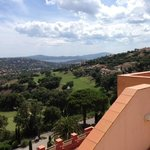 vue sur la baie de St Tropez