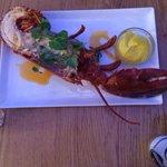 Half lobster! Delicious!