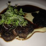 Bindaree Beef; grilled Angus fillet with mushrooms