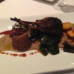 Dorper Lamb;shiraz braised shoulder & roasted rack
