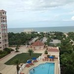 View from 6th floor, Better view of the ocean