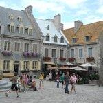 Petit Champlain square