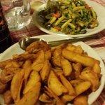 patate al forno e verdure