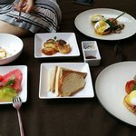 Fantastic selection of breakfast served daily! Brekkie in our cabana, how convenient!