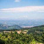 Panorama dalle terrazze de Gli Scoiattoli Bivigliano