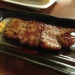 grilled ox tongue
