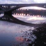 Berwick at dusk
