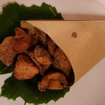 Frittierte Steinpilze