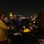 Vista desde habitación hacia El Nilo