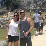 Visiting the Mayan ruins in Tulum