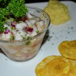 Ceviche at Drake Bay Cafe, Costa Rica