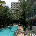 Pool and Cabana area
