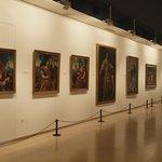 Exposición de una de las salas