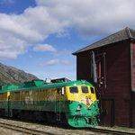 Fraser Service train ready to depart Fraser, BC