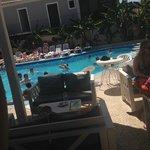 The pool view from Zanterocks
