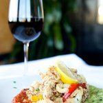 Wine & Calamari are both offered our our Early Bird menu for a great price