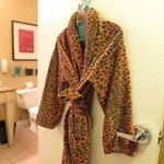 Bathrobe - no comment!