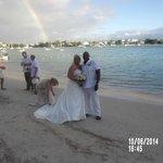 Wedding Rainbow....
