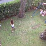 giochiamo in giardino