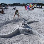 Awesome sandcastle...